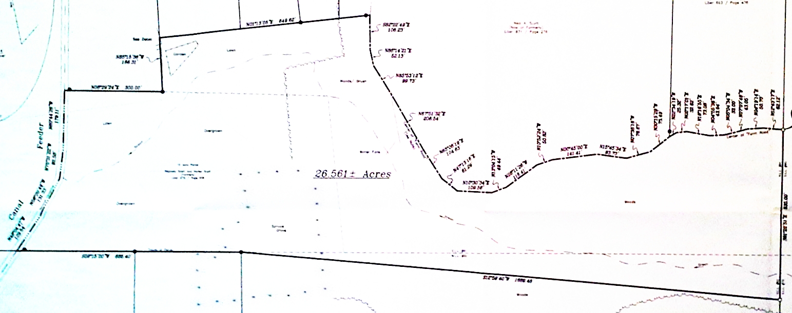 Easement Area Survey 2