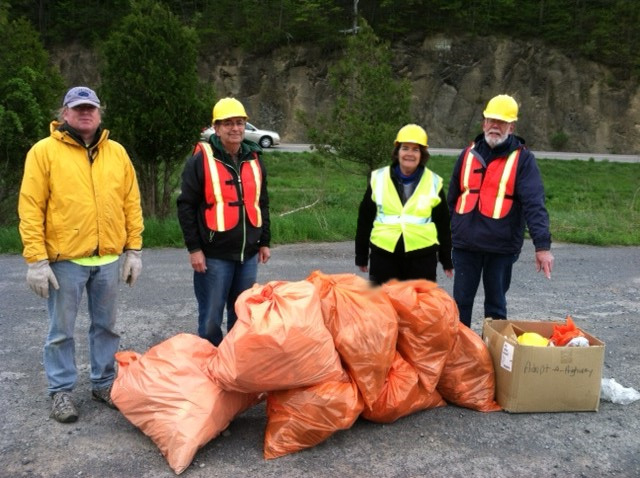 Photo of May 2013 Route 12B Cleanup